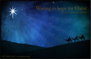Waiting in hope for Christ